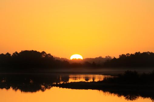 Sunset Assateague Island