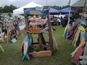 The Arts & Crafts Event at the Chincoteague Blueberry Festival