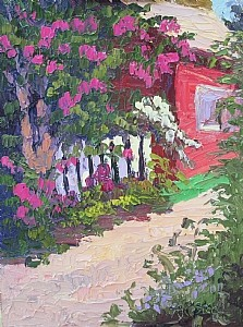 An example of a Plein Air painting from the Show.
