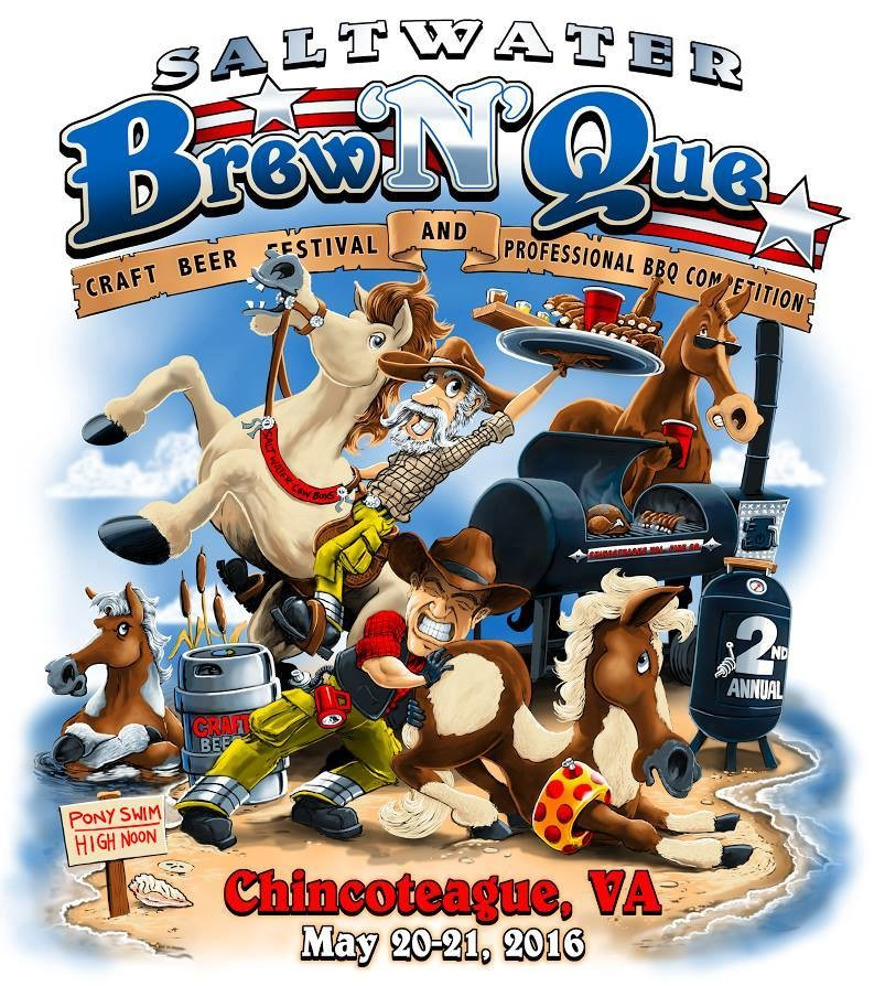 Get Set for Saltwater Brew 'N' Que II!