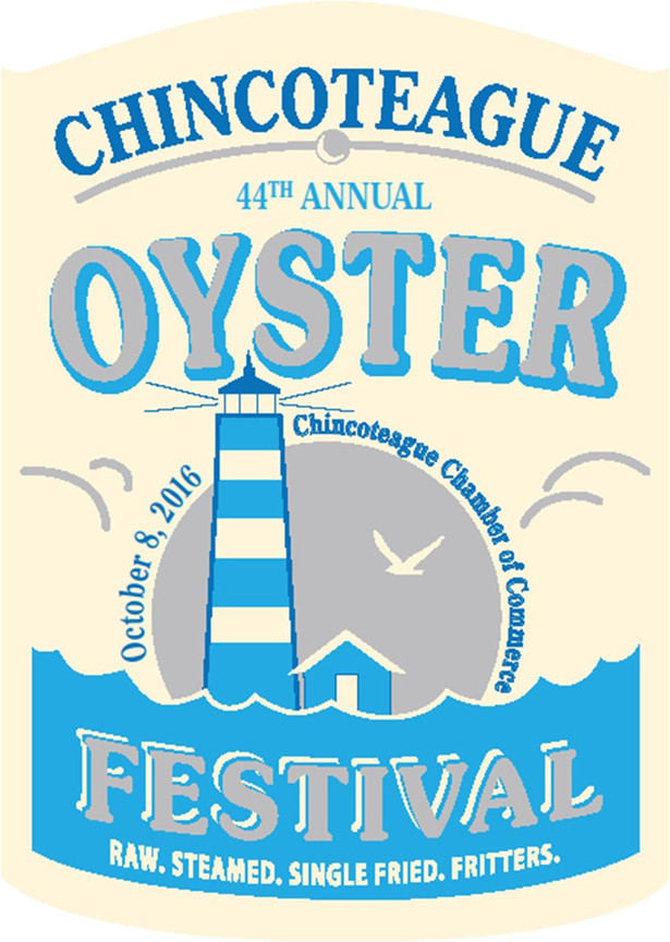 2016 Chincoteague Oyster Festival Poster