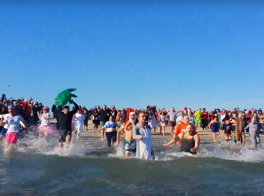 Chincoteague Polar Pony Plunge 2019