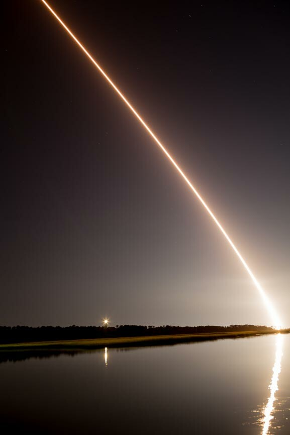 NASA Wallops Flight Facility rocket launch