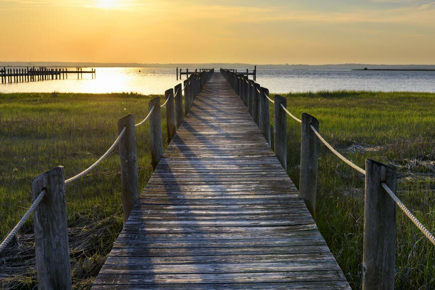 enjoy a Chincoteague Island Getaway to the beach