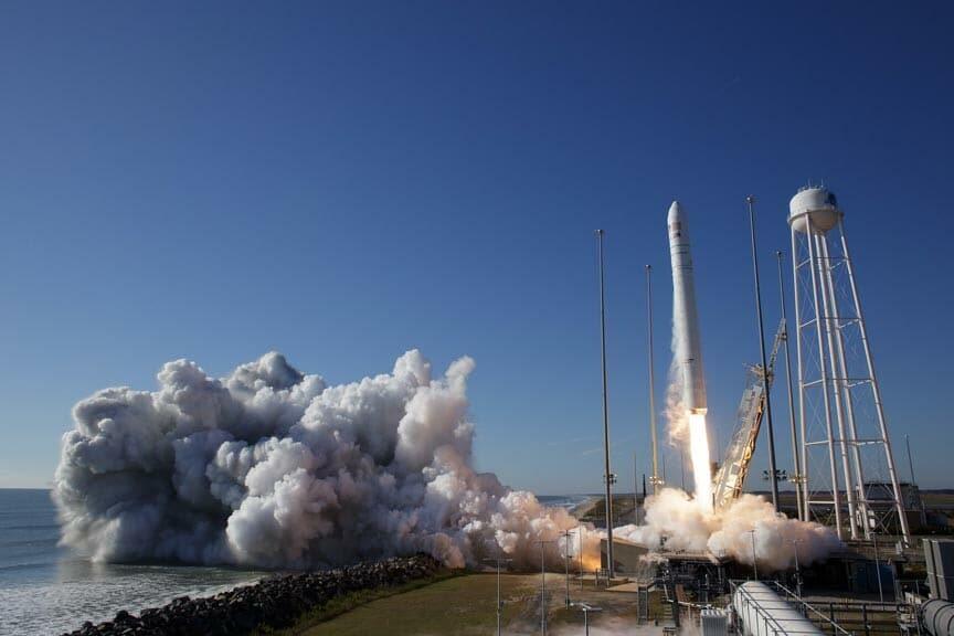 Nasa Antares Rocket Launch