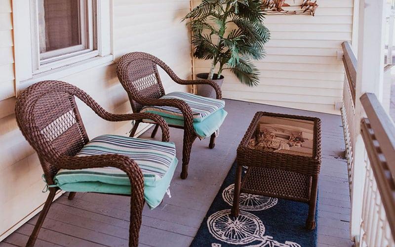 Miss Molly's Room porch