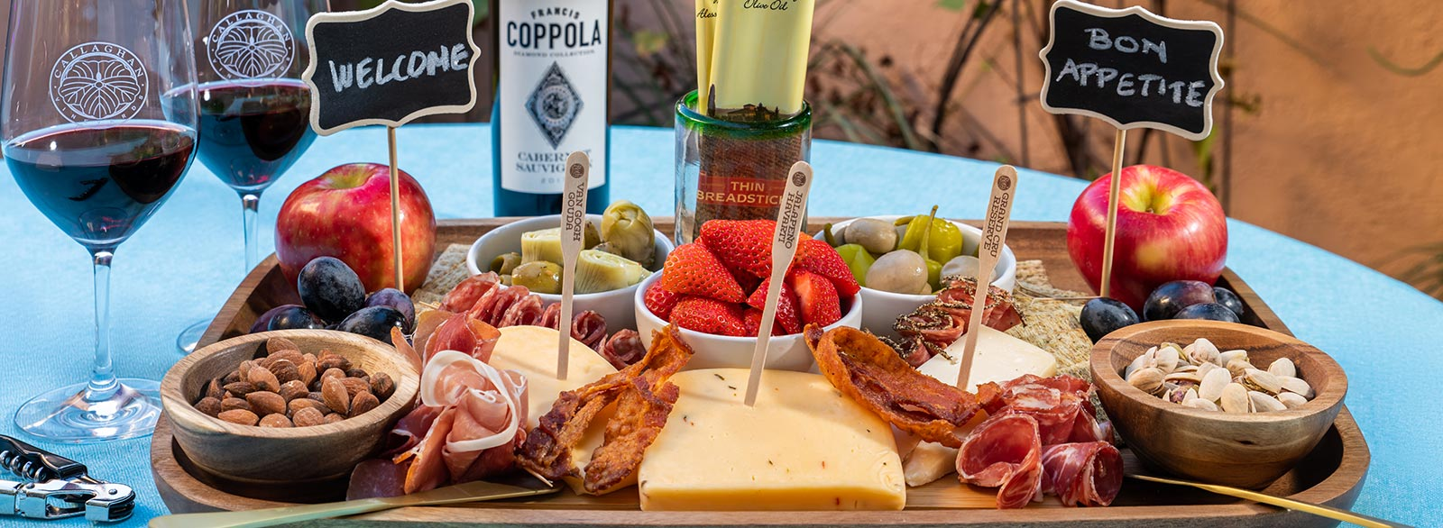 cheese fruit and meat tray